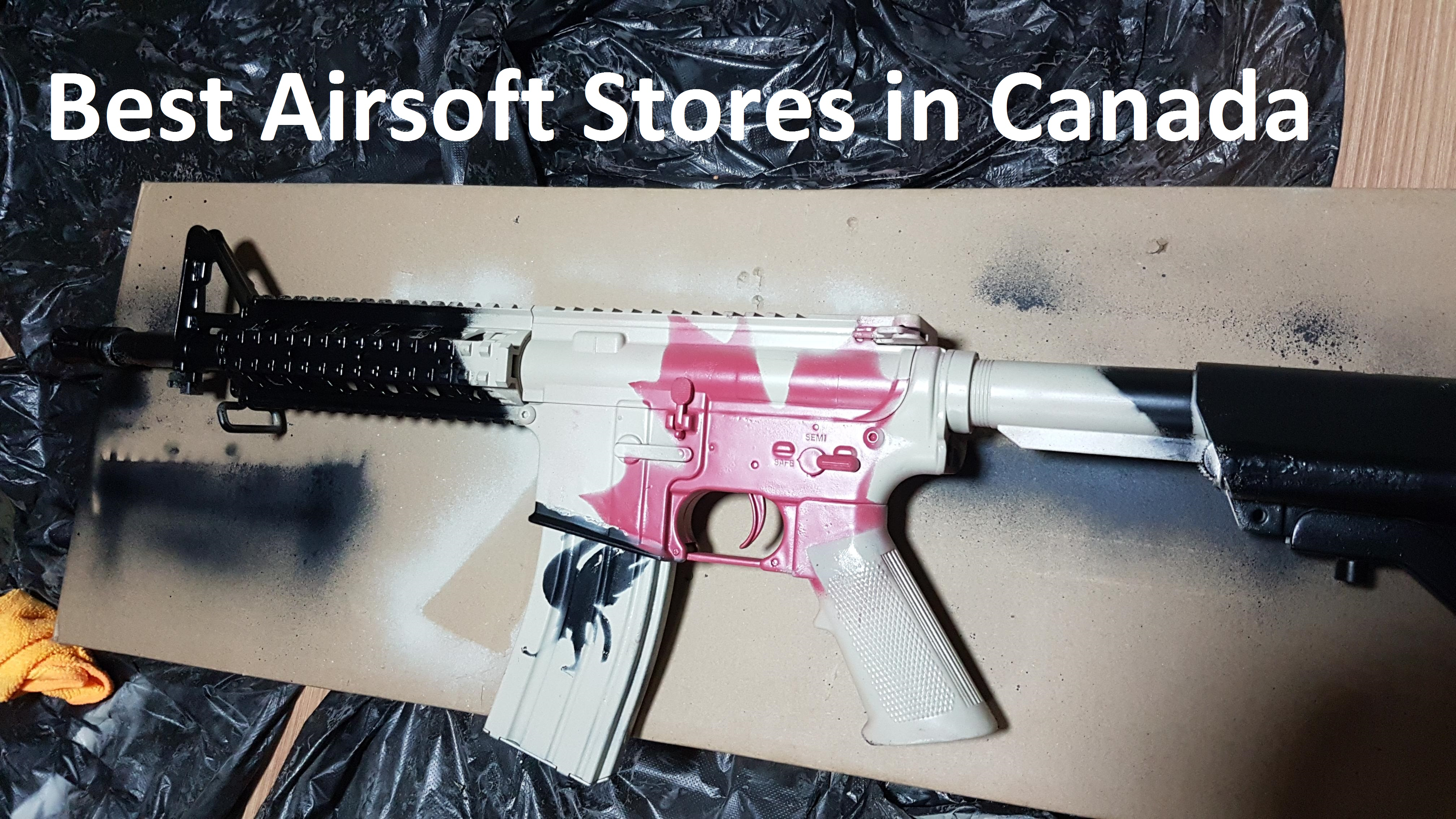 Airsoft Stores in Canada